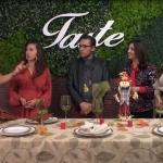 Decoración de mesa para cena del Día de Acción de Gracias
