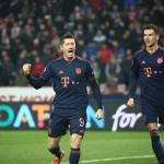 Bayern Múnich goleó al Estrella Roja con 4 de Lewandowski