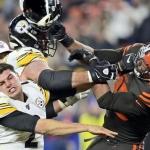 Garrett vs Rudolph opacó el triunfo de Browns