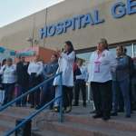 Sindicalizados del Sector Salud en BC van a paro por falta de pago de aguinaldo