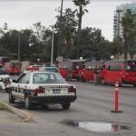 Operativo sobre bulevar Agua Caliente remolcó a 22 unidades de transporte público