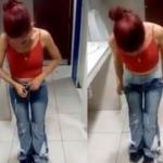 Intentó robar 8 jeans poniéndose uno sobre otro