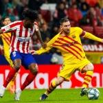 El Barcelona logró el triunfo en la recta final ante el Atlético