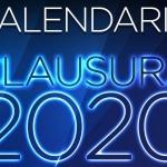Listo el calendario del Torneo Clausura 2020
