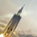 Así es el cohete más grande del mundo para misiones lunares