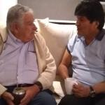 Se reencuentran José Mujica y Evo Morales en la CDMX