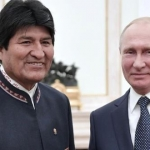 Quiere Evo Morales presencia de Rusia en América Latina