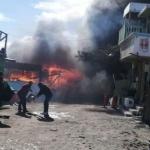 Se incendian cuatro locales en zona restaurantera de Popotla
