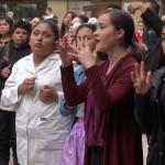 A señas conmemoran Día del Sordo en el Ayuntamiento de Tijuana