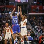 Victoria de Clippers ante Knicks
