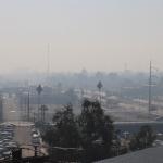 Recomiendan suspender actividades al aire libre por contaminación